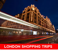 harrods shop and london traffic